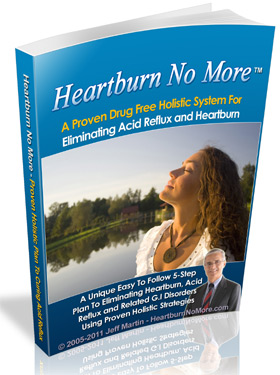 Heartburn No More™  - Heartburn  Cure Book