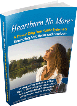Relieve from Hearthburn and Acid Reflux