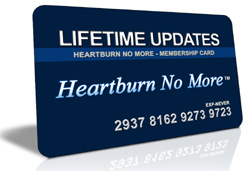 Free Lifetime Updates - heartburn No More™